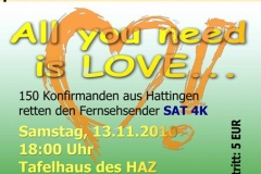 love revue 2010 plakat