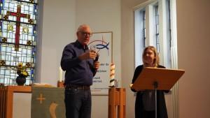 Das Predigt-Duo Annette und Uwe