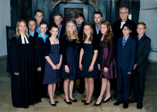 Konfirmanden 2012 2013 Evangelische Kirchengemeinde