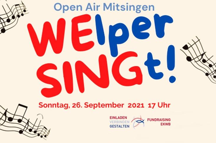 Anmeldung zu WElper SINGt!