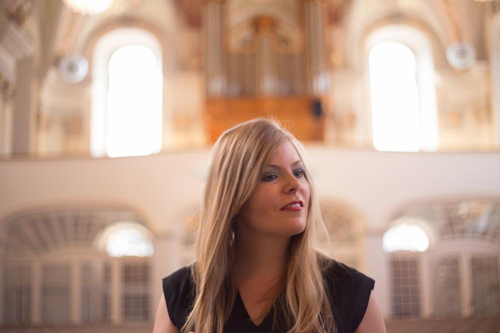Ann-Helena Schlüter bei den Bochumer Orgeltagen zu Gast in Blankenstein
