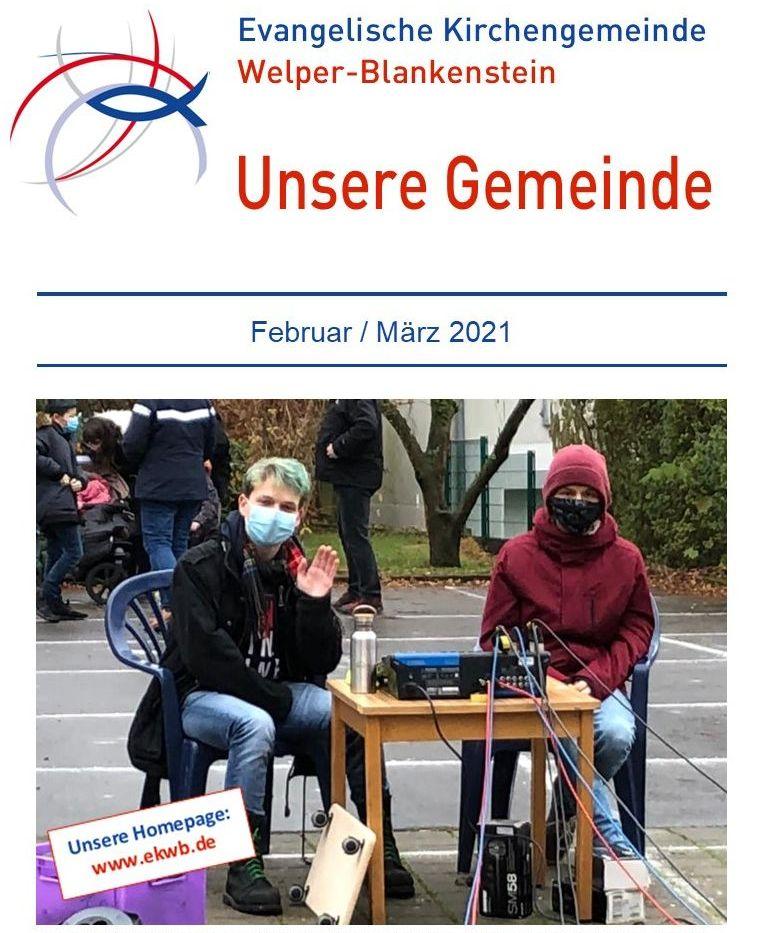 Gemeindebrief Februar / März 2021