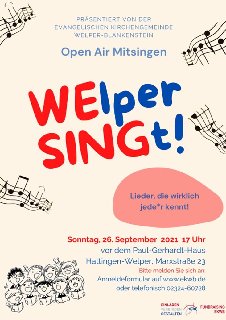WElper SINGt!